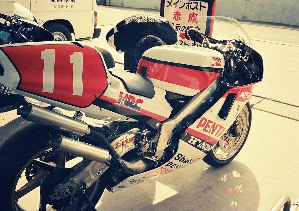 1989年4月7日 筑波サーキット ホンダ NSR500