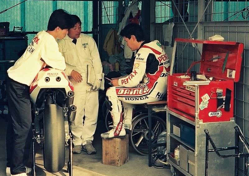 1989年4月7日 筑波サーキット ホンダ NSR500 八代俊二