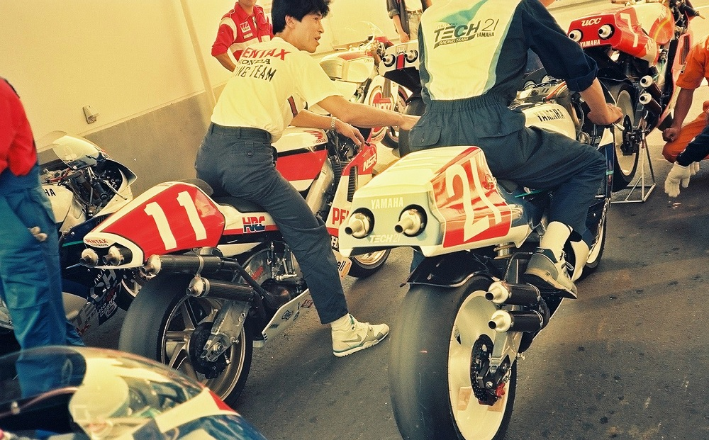 ホンダ NSR500 & ヤマハ YZR500