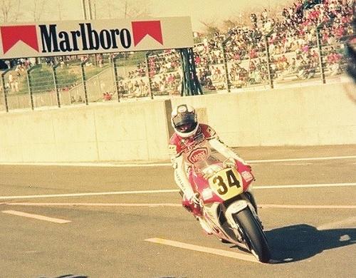 1990/3/25 日本GP 鈴鹿サーキット GP500 LUCKY STRIKE SUZUKI RGVΓ500 ケビン・シュワンツ