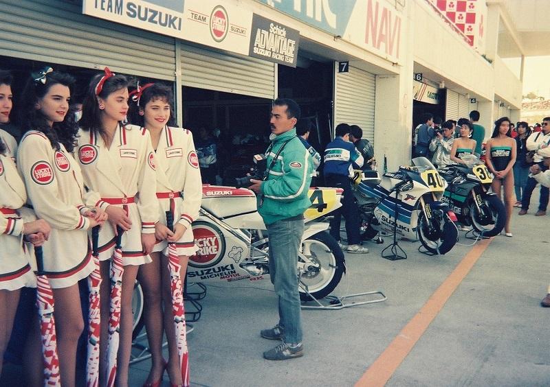 1990/3/25 日本GP 鈴鹿サーキット GP500 LUCKY STRIKE SUZUKI RGVΓ500
