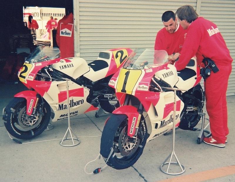 1990/3/25 日本GP 鈴鹿サーキット GP500 Marlboro YAMAHA YZR500