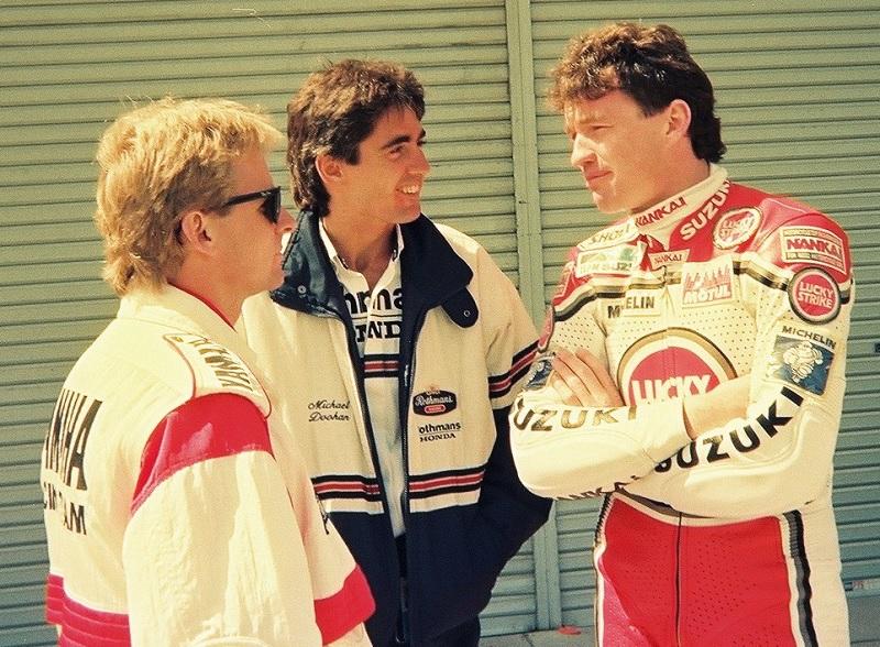 1990/3/25 日本GP 鈴鹿サーキット GP500 ウェイン・レイニー / ミック・ドゥーハン / ケビン・マギー