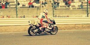 19880327-02-フレディ・スペンサー-引退走行