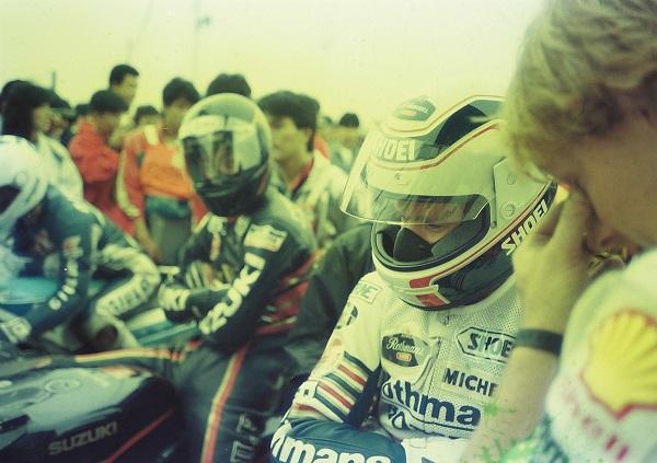 19860921-08-ホンダ NSR500 ワイン・ガードナー スズキ Walter Wolf RGΓ500 水谷 勝