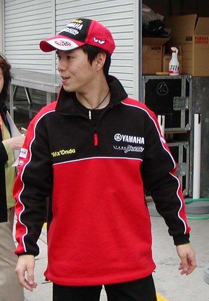 2003年4月4日 日本GP 鈴鹿サーキット D'ANTIN YAMAHA #56 中野真矢(Shinya NAKANO)
