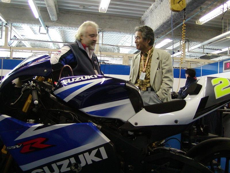 2003年4月4日 日本GP 鈴鹿サーキット SUZUKI Grandprix Team #21 John Hopkins(ジョン・ホプキンス)