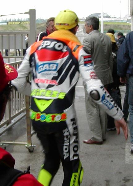 2003年4月4日 日本GP 鈴鹿サーキット REPSOL Honda #46 Valentino Rossi(バレンティーノ・ロッシ)