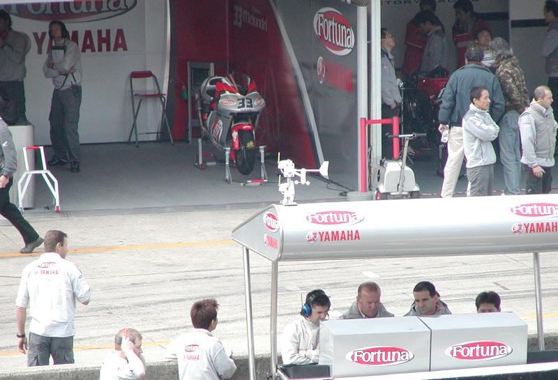 2003年4月4日 日本GP 鈴鹿サーキット Fortuna YAMAHA Tech3 #33 Marco Melandri(マルコ・メランドリ)