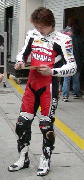 2003年4月4日 日本GP 鈴鹿サーキット YAMAHA #17 阿部典史(Norifumi ABE)