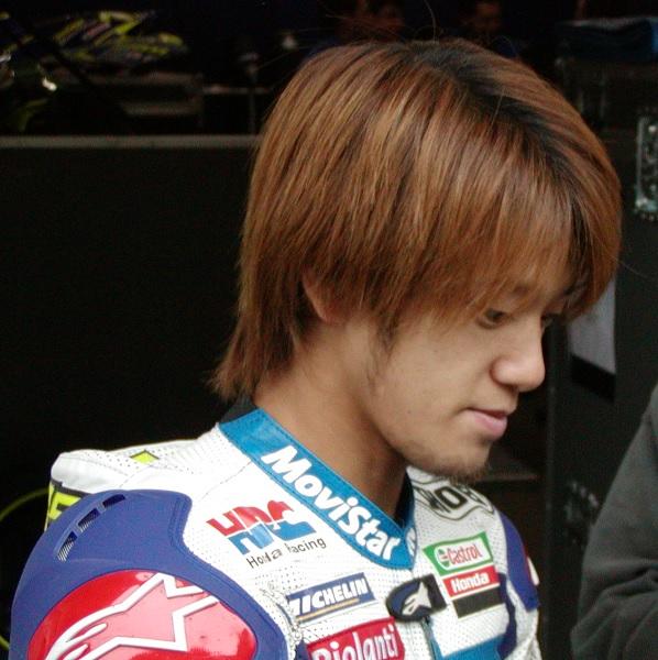 2003年4月4日 日本GP 鈴鹿サーキット Telefonica MoviStar Honda #74 加藤大治郎(Daijiro KATO)
