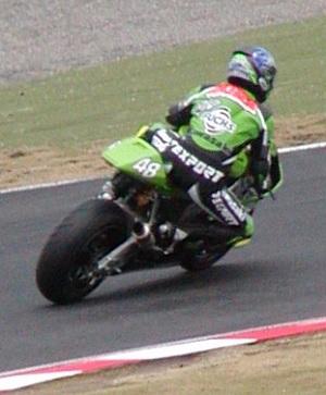 2003年4月5日 日本GP 鈴鹿サーキット シケイン MotoGPクラス #48 柳川明(Akira YANAGAWA)