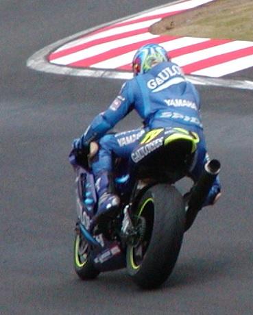 2003年4月5日 日本GP 鈴鹿サーキット シケイン MotoGPクラス #19 Olivier Jacque(オリビエ・ジャック)