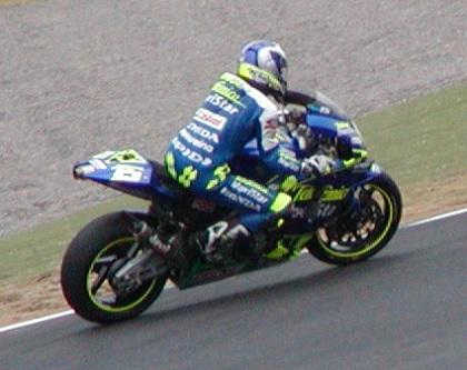 2003年4月5日 日本GP 鈴鹿サーキット シケイン MotoGPクラス #15 Seté Gibernau(セテ・ジベルナウ)