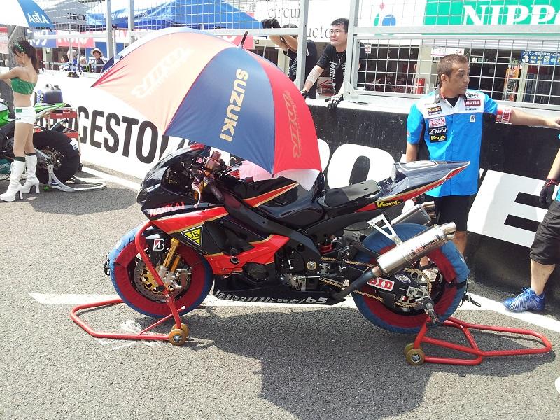 2011/07/31 鈴鹿8耐 鈴鹿サーキット team MⅡR