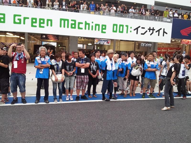 2011/07/31 鈴鹿8耐 鈴鹿サーキット ゴール直前のピットロード