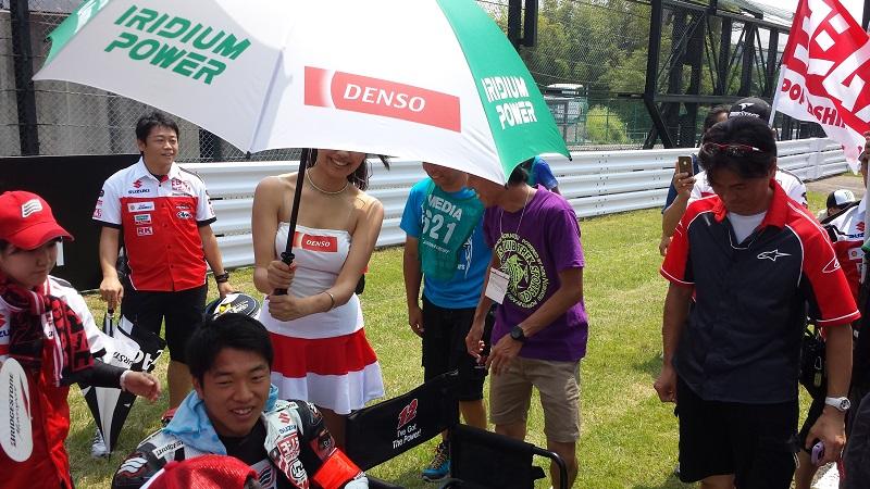 2013/07/28 鈴鹿8耐 鈴鹿サーキット ヨシムラスズキ レーシングチーム 津田拓也(おまけ:チュートリアル福田)