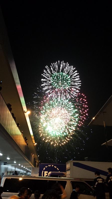 2013/07/28 鈴鹿8耐 鈴鹿サーキット 花火