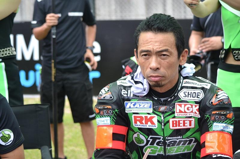 2014/07/27 鈴鹿8耐 鈴鹿サーキット #87 Team GREEN 柳川明