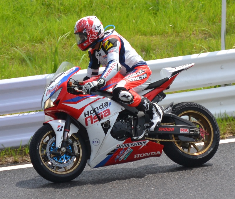 2014/07/27 鈴鹿8耐 鈴鹿サーキット #7 Honda Team Asia