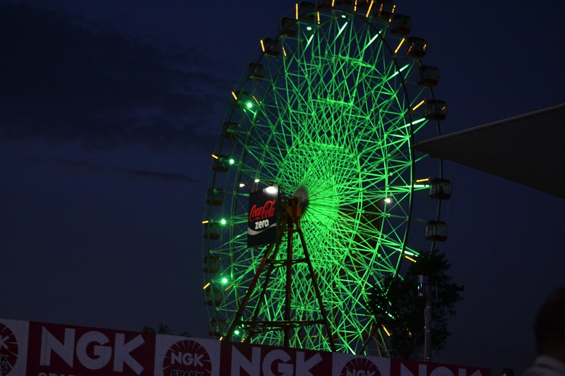 2014/07/27 鈴鹿8耐 鈴鹿サーキット 観覧車