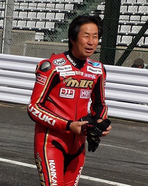 2014年11月30日 鈴鹿サーキット レジェンドライダー 水谷勝