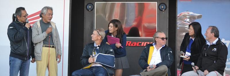 2014年11月30日 鈴鹿サーキット モリワキ祭 レジェンド トークショー ケビン・シュワンツ / ワイン・ガードナー / グレーム・クロスビー
