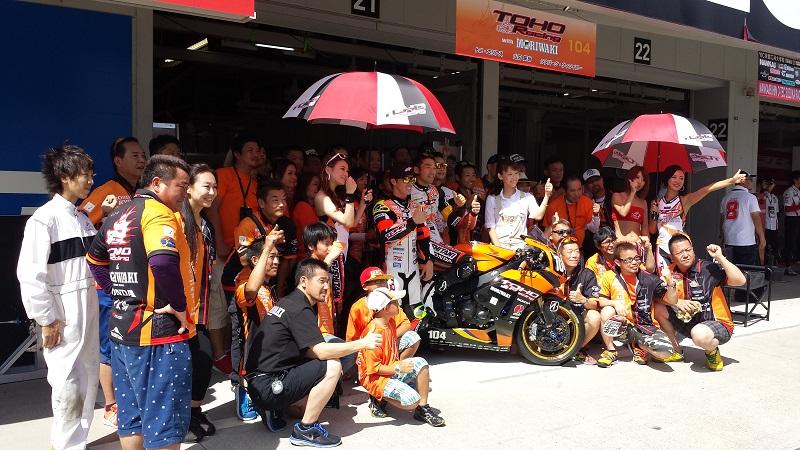 2015/07/26 鈴鹿8耐 鈴鹿サーキット #104 TOHO Racing with MORIWAKI