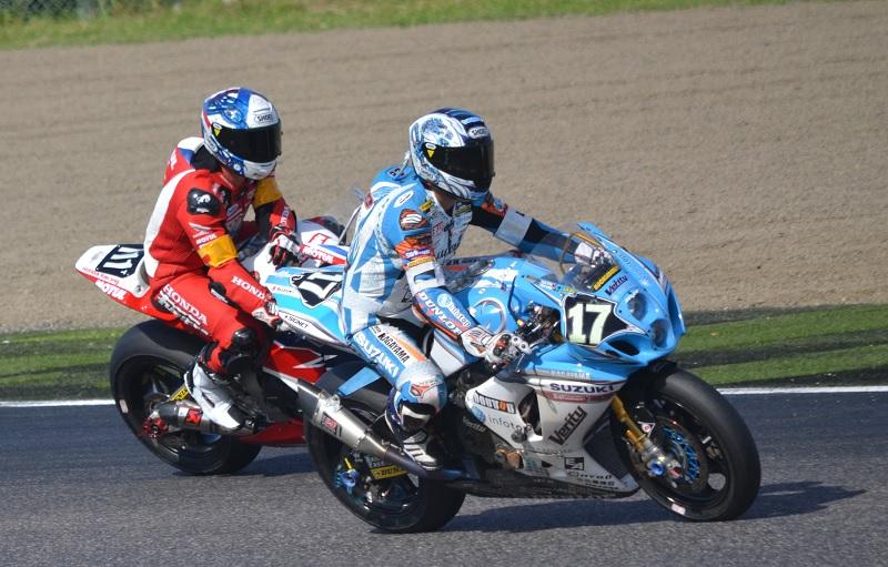 2015/07/26 鈴鹿8耐 鈴鹿サーキット #17 Team KAGAYAMA 清成龍一 #111 HONDA ENDURANCE RACING セバスティアン・ジンバート(Sébastien GIMBERT)