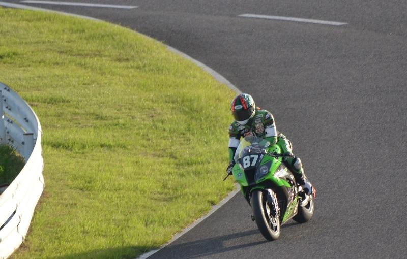 2015/07/26 鈴鹿8耐 鈴鹿サーキット #87 Team GREEN 渡辺一樹