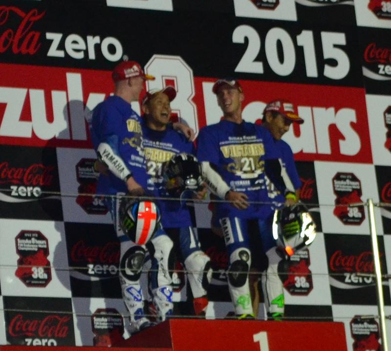 2015/07/26 鈴鹿8耐 鈴鹿サーキット 優勝 #21 YAMAHA FACTORY RACING TEAM