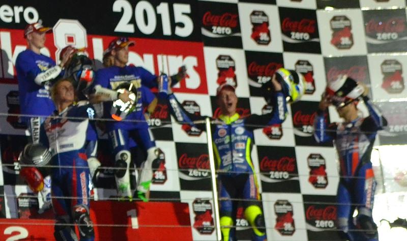 2015/07/26 鈴鹿8耐 鈴鹿サーキット 2位 #778 F.C.C. TSR Honda