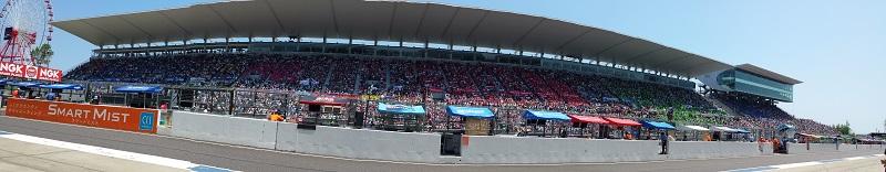 2016年7月31日 鈴鹿8耐 グランドスタンド ピットロードから