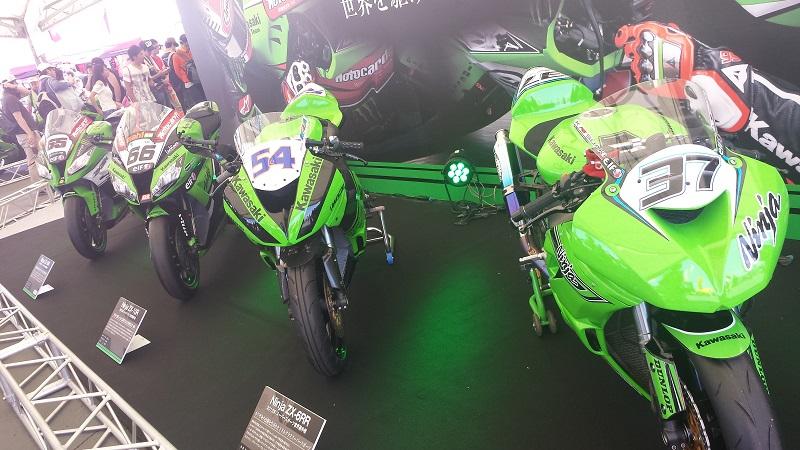 2016年7月31日 鈴鹿8耐 カワサキ レーシングバイク